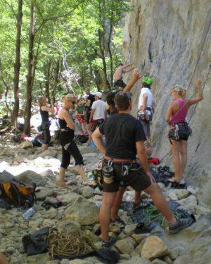 Climbing in Croatia
